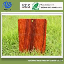 3D High Quality Holz Effekt Beschichtung Pulver