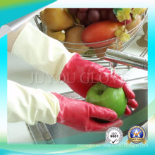 Anti Acid Exam Latex Cleaning Gloves with Good Quality