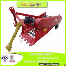 1 colheitadeira de batata montada trator de exploração agrícola do escavador da batata da fileira