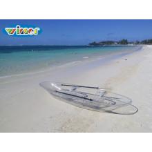 Kayak transparente de pessoa dupla