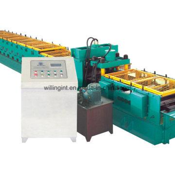Máquina formadora de rollos de correa en forma de Z automática