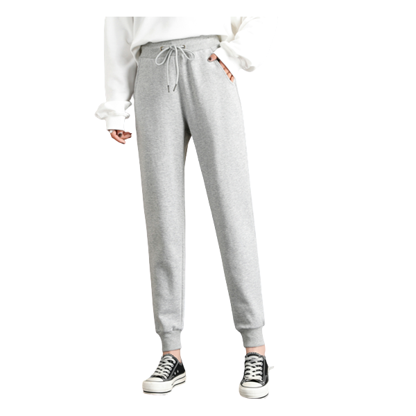 Leisure Pattern Cotton Sports Pants