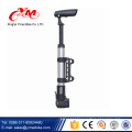Fashion bicycle air pump with pressure gauge/best factory cheap mini bicycle pump/OEM service hand pump