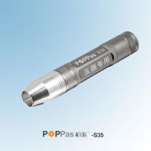 Ipx7 Теплый светодиодный фонарик CREE Xr-E для нефритовых изделий (POPPAS-S35)