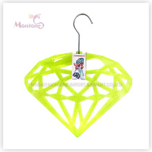Gancho de roupa PP-Diamond em forma de plástico (36 * 31cm)