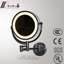 Highly Waterproof Chrome Washroom Mirror Round Wall Lamp