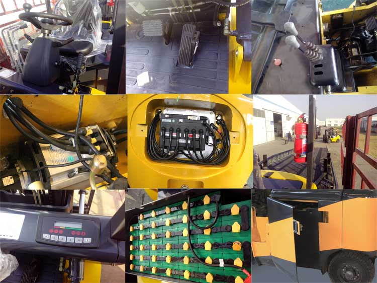 battery forklift details
