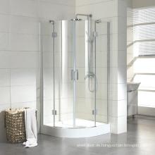 Duschkabine eines kleinen Duschhauses