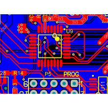 Elektronisk PCB Design Precision Chip