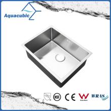Évier de cuisine en acier inoxydable en acier inoxydable à simple bol (ACS6045R)