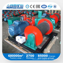 Electric Winches Fast Wire Rope Lifting Speed Electric Winch