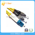 FC-LC SM Duplex Cable de conexión de fibra óptica