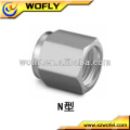 Acessórios de aço inoxidável npt ferrule nut