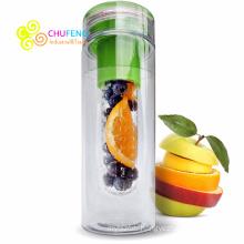 Tritan Sport Water Bottle Plastic New Fruit Infusion Water Bottle BPA Free 750ML