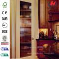 36 po x 80 po. Reed / Preston Patina Woodgrain 1 Lite dalle de porte intérieure en acajou inachevée
