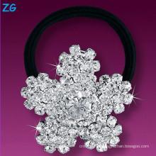 Шикарный кристаллический диапазон волос девушок, диапазон волос цветка девушок кристаллический, диапазон волос венчания вспомогательного оборудования волос
