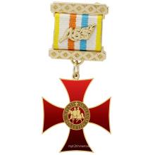High Quality Custom Knights Templar Medal Badge