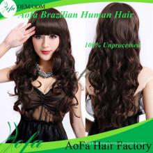 100%Brazilian Virgin Human Hair Human Remy Hair Extension