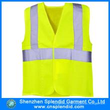 China Kleidungsstück Fabrik Workwear Hohe Sichtbarkeit Reflektierende Sicherheit Weste