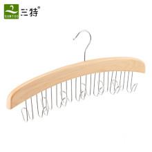 12 Gürtel Gürtelhalter aus Holz
