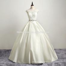 2017 new spot real shot diamond belts satin shoulder bag lace pompon wedding dress