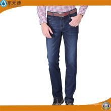 OEM de alta qualidade Men Cotton Jeans Moda Denim Casual Jeans