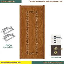 Pure Wooden Door PVC Glass Door MDF Wooden Door