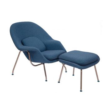 Eomb Saarinen Womb Chair & Replica Ottoman