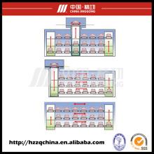 Garage stéréo automatisé de haute performance et ascenseur de stationnement