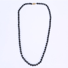 Necklace Black China Glass Bead