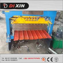 Hoja de techo de acero de alta calidad Rollforming máquina con un descuento