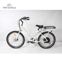 China fornecedor acessível bicicleta elétrica cruzador de bicicletas / praia cruiser ebike moto