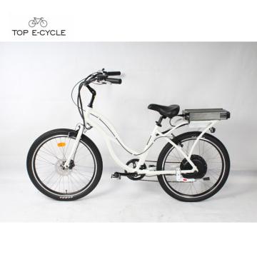 Китай поставщик недорогой электрический пляж крейсер велосипед /пляж велосипед круизер электровелосипедов