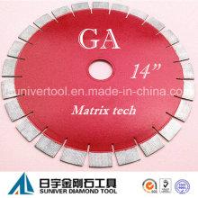 """Lâmina de diamante GP 14 """"* 25 mm, lâmina de granito"""