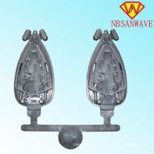 Алюминиевая заливка формы для подошвы