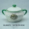 Ручная роспись керамических сливок и сахарница для оптовой продажи