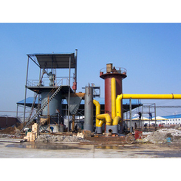 Single Section Cold Coal Gasifier