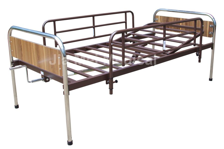 back lifting medical bed