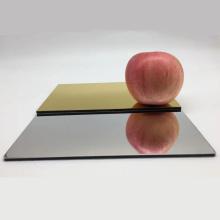 Fireproof Wall Cladding Mirror Aluminum Composite Panel