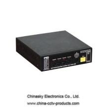 4CH Power/Video/Data Combiner Hub-12VDC-Mid PVD404M