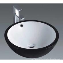 Casa de banho Cerâmica Art Bacia com superfície preta (1001)