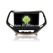 GPS, DVD, radio, bluetooth, 3g / 4g, wifi, SWC, OBD, IPOD, lien miroir, TV pour jeep boussole