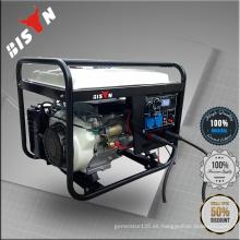 BISON China Zhejiang 6KW AC trifásicos baratos portátiles soldador generadores