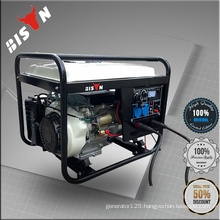 BISON China Zhejiang 6KW AC Three Phase Cheap Portable Welder Generators