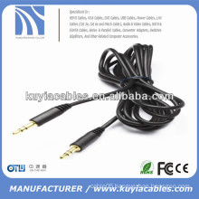 Good Quality Metal pulg 3.5mm stereo male to male cable