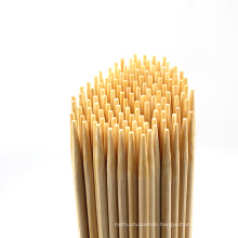 Custom size Bamboo Skewers Disposable bbq skewers for suit use in machine