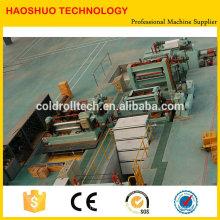 Alta qualidade HR CR SS folhas de aço GI Slitting Machine
