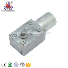 Super low noise electric curtain 12v 24v 2rpm dc worm gear motors
