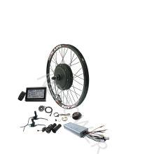 48v/52v 1500w 2000w e bike conversion kits with optional battery