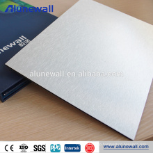 2M Width Metallic color exterior wall panels aluminum composite panel with 4mm 3mm 5mm thick